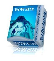 ホームページ作成の最強のコラボ!◆WOW SITE & Professional Graphics Creation Tool Box◆