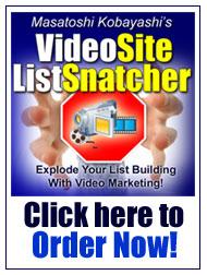 Video Site List Snatcherは、簡単・スピーディにビデオサイトを構築する為の専用システムです