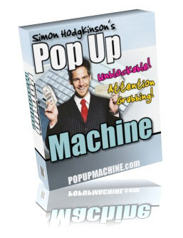 POP UP Mashineブロックされないポップアップを!