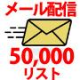 50,000件のリストに広告を安価で配信する、メールマガジン配信代行サービス