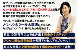 ワールドビジネスアカデミー(14万7000円)