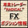 """専業トレーダー""""RADICAL""""のFXポジション情報"""