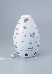 光触媒空気分解清浄器CHITAN 柿右衛門風小花ちらし  卓上タイプ
