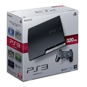 送料無料/PlayStation 3 (320GB)チャコール・ブラック本体