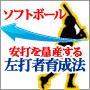 安打を量産する「左打者」育成法(ソフトボール)~スラップ・セーフティー・打撃のコツを簡単につかむ方法 基礎と実践~