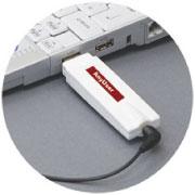 アィムフォンは世界最小のUSBメモリ型のIP(インターネット・プロトコル)電話。