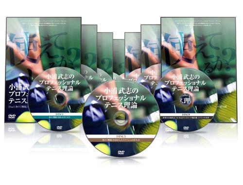 世界最高峰のテニス指導者 小浦武志のプロフェッショナルテニス理論 【KU0001】